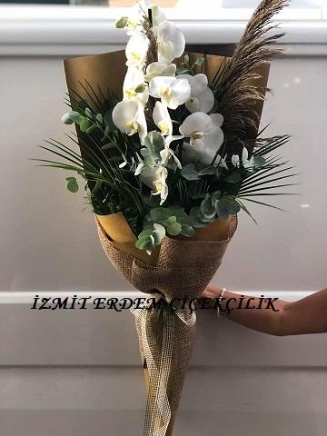 Orkideli Buket